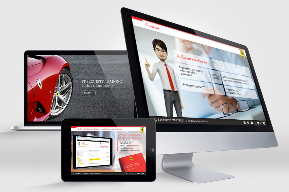 Ferrari | IT Security Training